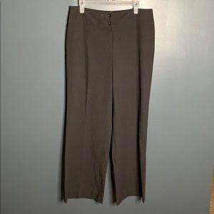 Evan Picone grey dress pants